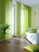 zöld lapfüggöny