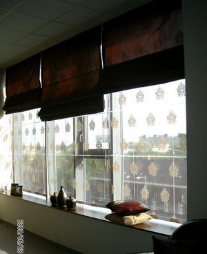 fényáteresztő és sötétítő római függöny