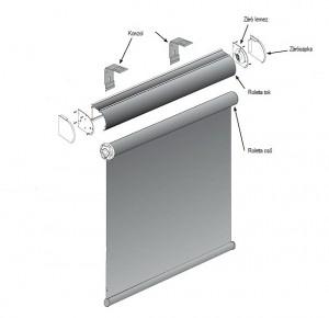 tokozott roló szerkezeti ábra