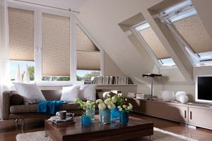 plissé tetőtéri ablakokra